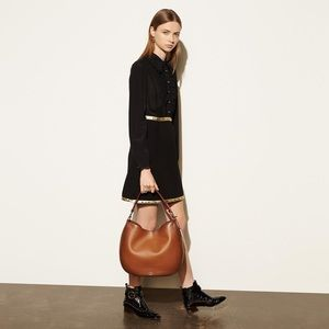 New Coach Natural Calf Nomad Leather Hobo Bag